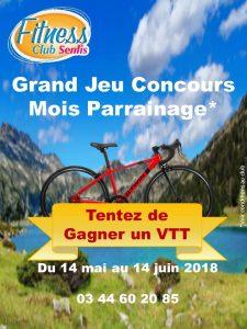 Jeux Concours Mois Parrainage 100 Gagnant Fitness Club Senlis