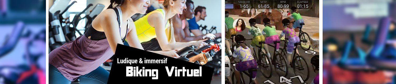 Biking virtuel en salle - Senlis (60)